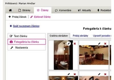 Obsah webstránok máte pod kontrolou prostredníctvom administračného systému